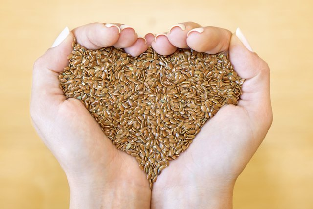 Flaxseed may help your hair, as well as your nails, become stronger.