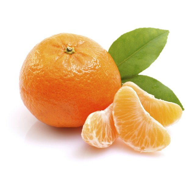 Citrus fruits are naturally high in vitamin C.