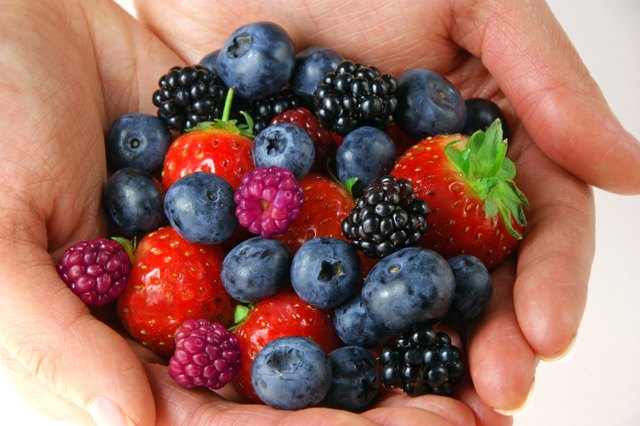 Fresh berries.