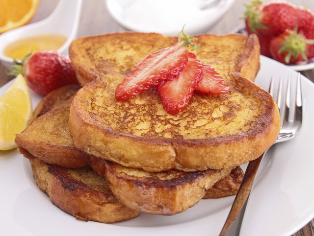 French toast is an easy-to-make and easy-to-eat food for older babies.