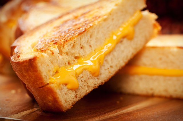 A toaster oven allows you to make toasted sandwiches without a skillet and stove.