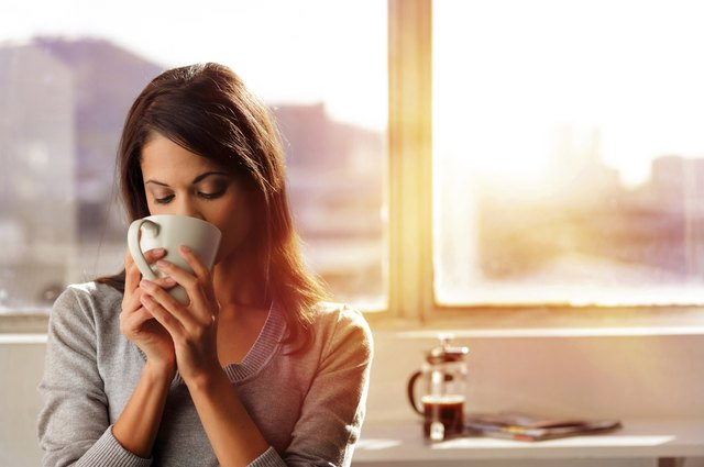 All decaffeinated products contain small amounts of caffeine.