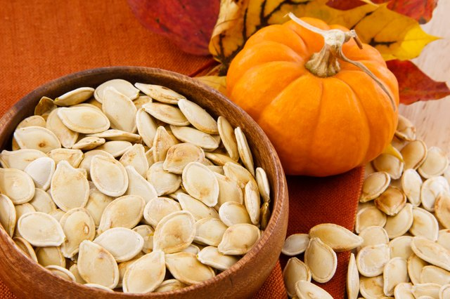 snacking on pumpkin seeds is another way to get omega-3s