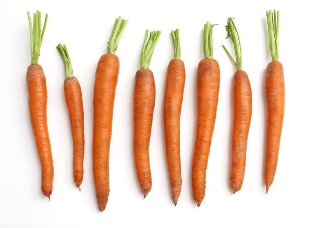 Carrots are allowed on the low potassium diet.