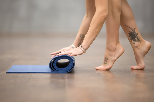 Yoga — which is intended to be barefoot — can help increase foot and ankle strength.