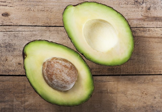 Avocados are a good source of fiber and healthy fats.
