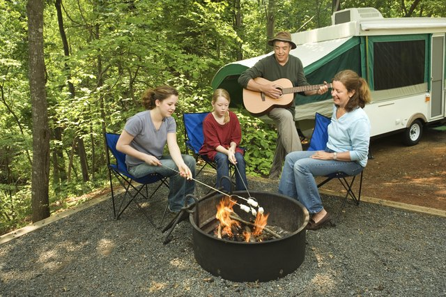Larger pop-up campers can be more expensive while providing the comforts of home.