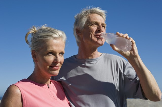 Sipping on water throughout the day keeps your body hydrated as well as satisfied.