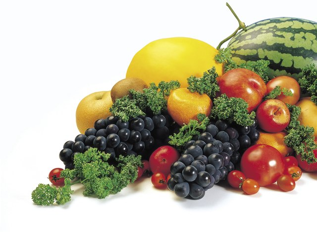 Fresh fruits and vegetables are simple carbohydrates.