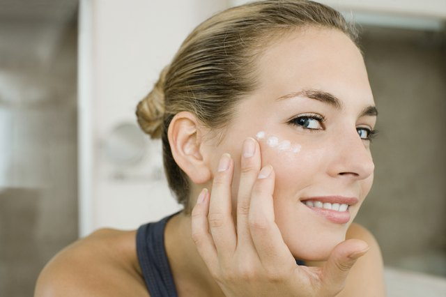 Apply moisturizer while the skin is still damp.