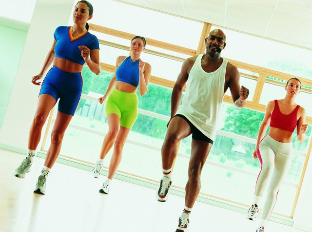Burn calories with aerobic exercise to melt fat.
