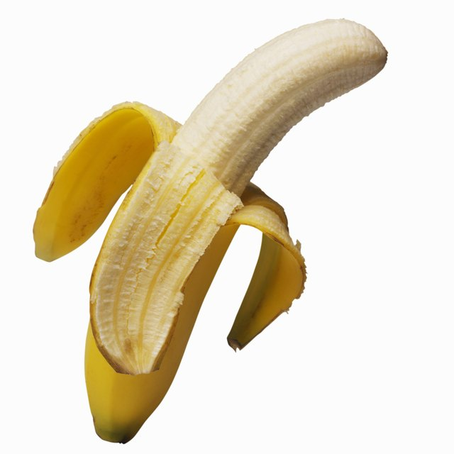 Bananas are acceptable uncooked.