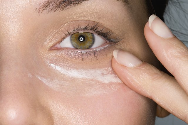 Use sunscreen under the eyes.