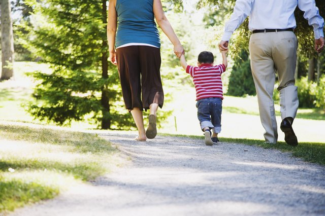 Take a walk with your family.