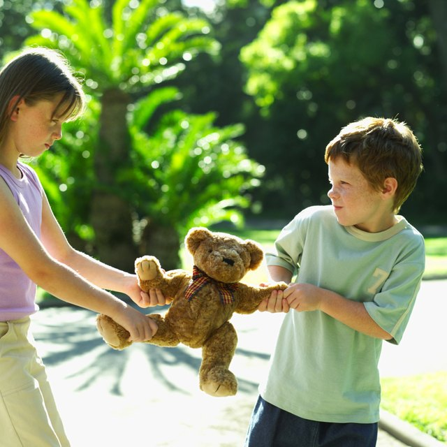 In cases where sibling bullying is evident, alternative child care should be considered.