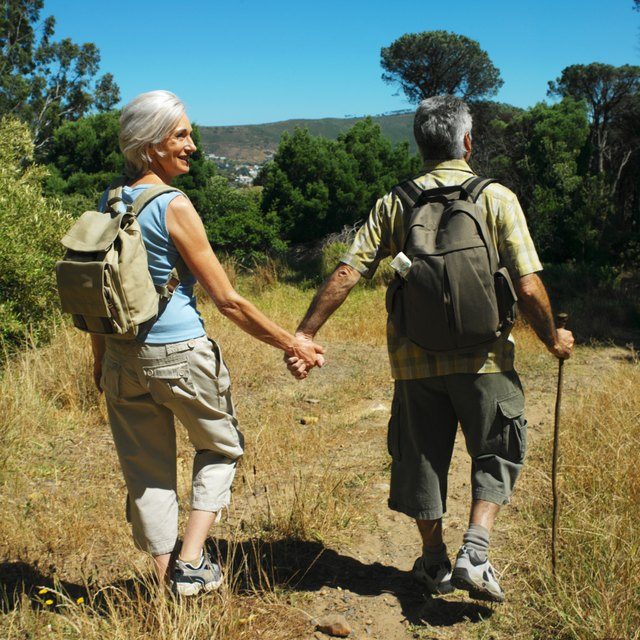 Hiking helps burn more calories during the time you spend exercising.