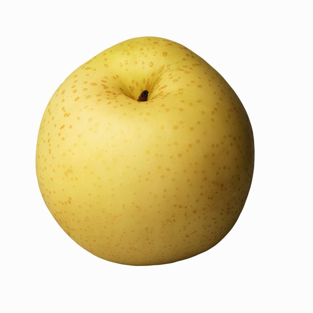 An Asian pear gives you up to 10 g of fiber.