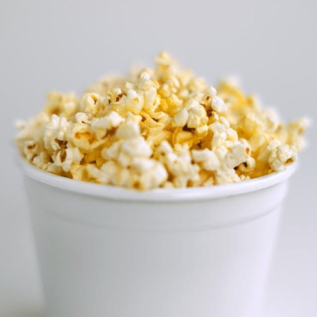 Popcorn may cause gas.