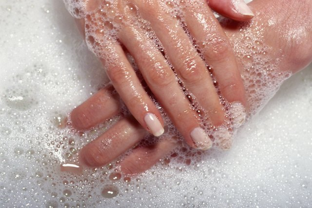 If you have sensitive skin, soaps and body washes may be too harsh.