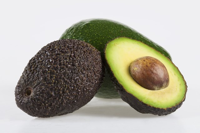 Avocados contain good fat.