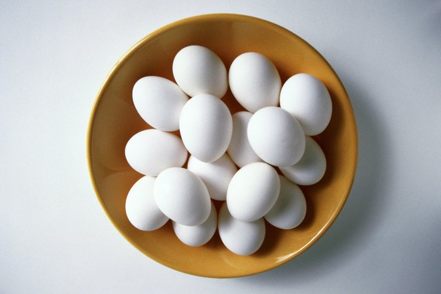 Eating eggs can help the body metabolize fat.