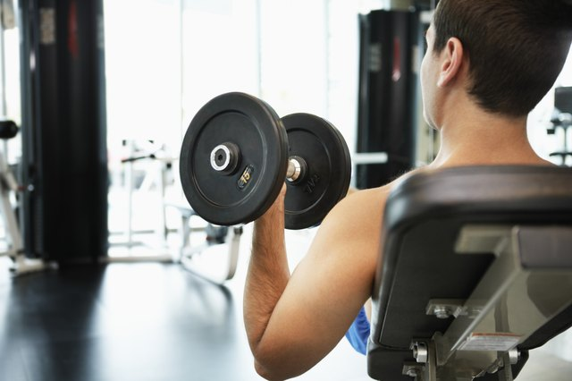 Focus on dumbell exercises that work your chest.