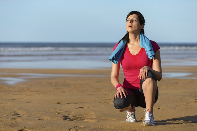 If you are just beginning an exercise routine you may be short of breath at first.