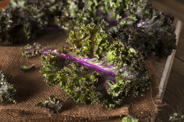 Kale is a superfood rich in iron, calcium and vitamins  A, C and K.