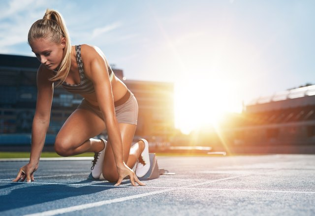 Increase 400-meter speed with weight training