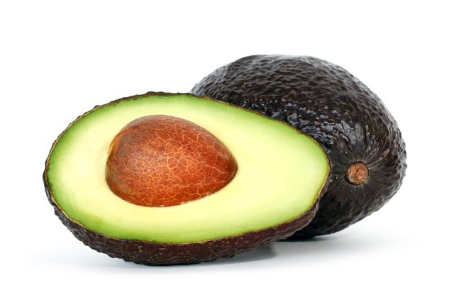 Avocadoes contain healthy fats.