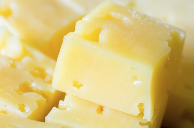 Cheese can contribute large amounts of fats and cholesterol to your diet.