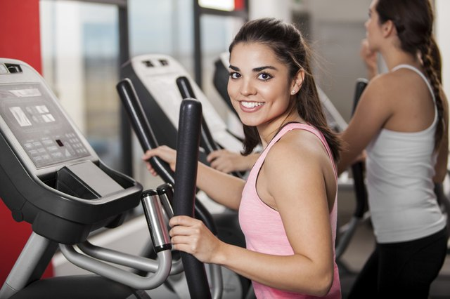 Gym machines offer a way to fit in your 150 minutes of moderate-intensity cardio weekly.