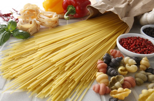 Pasta is one kind of carbohydrate.