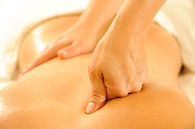 Post-workout massages can reduce excess fluid in cellulite-prone areas.