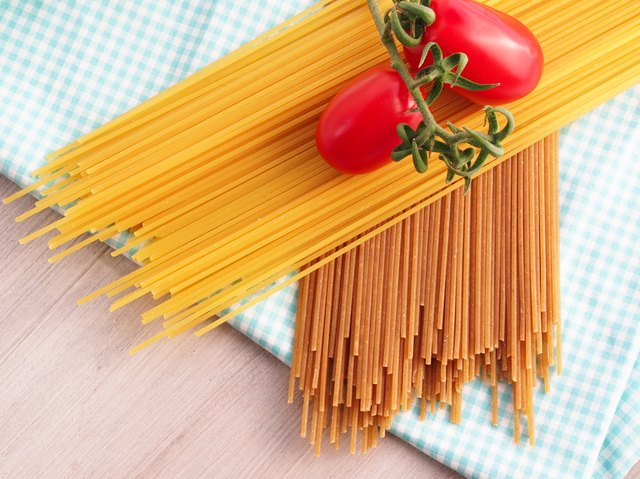 Cook with whole-wheat pasta instead of white pasta.
