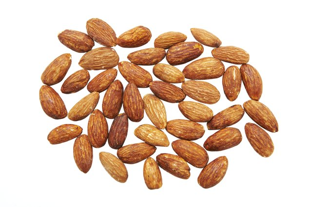 Almonds make a good snack.