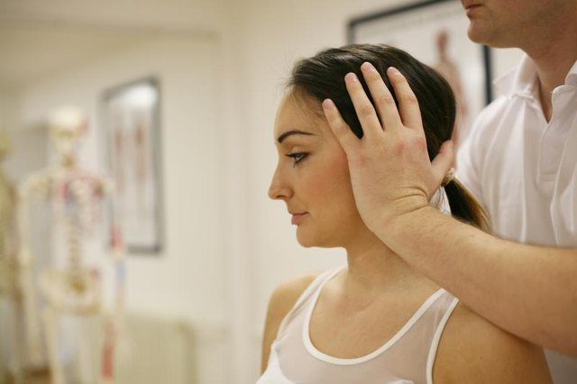 Be careful - strengthening exercises can cause pain after whiplash.