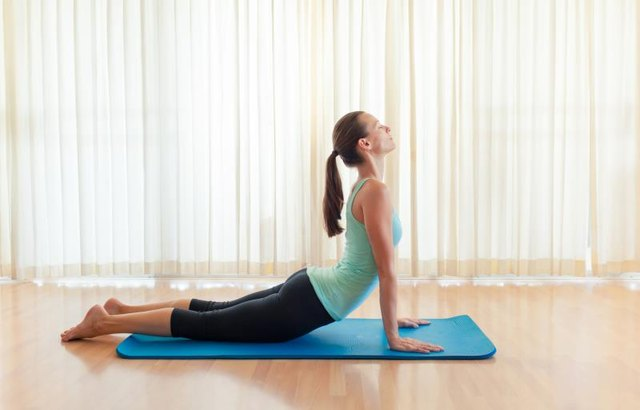 The swan exercise targets many of the extensor muscles in the neck and upper back.