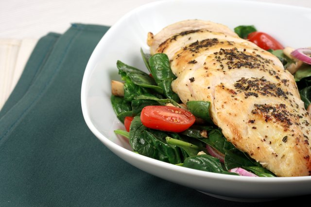 Grilled chicken breast.