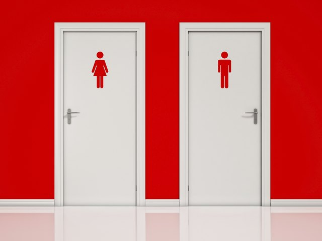 His and Hers Restrooms