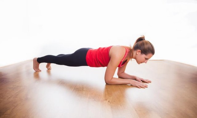 Forearm plank rests your wrist joints.