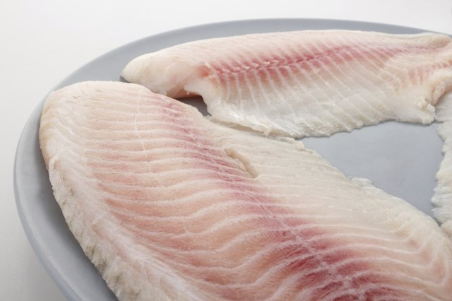 Substitute tilapia for higher-calorie entrees such as beef.
