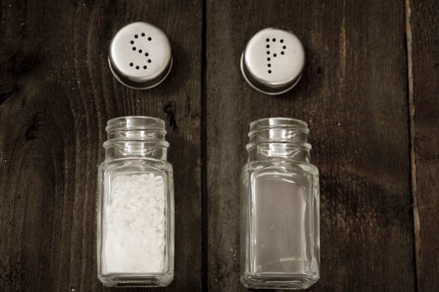 A small amount of salt is necessary for the body to function properly.