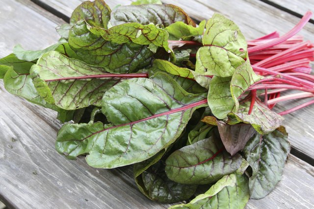 chard is rich in antioxidants