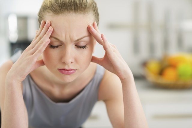 Headache may be a sign of caffeine withdrawal.