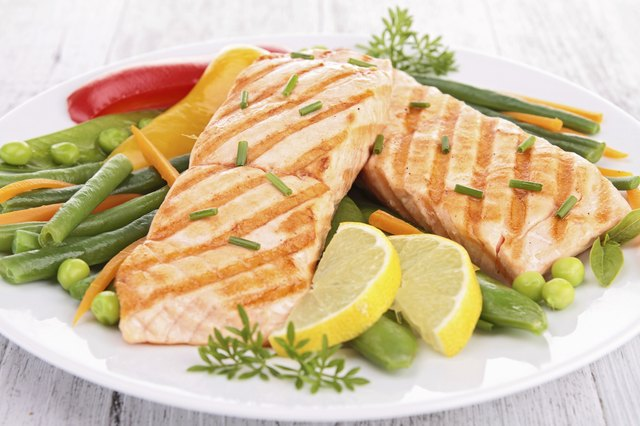 Eat fish such as salmon twice a week.