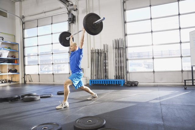 Certain CrossFit moves, such as Olympic lifts, are meant to be done in moderation.