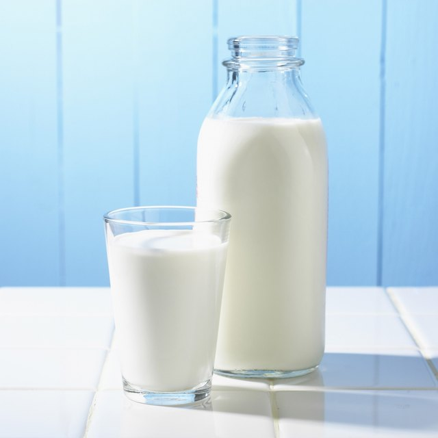 Jug and glass of milk