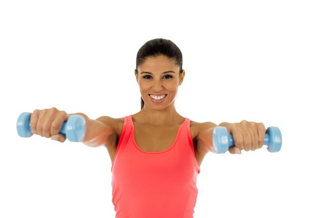 Lifting your arms past horizontal can increase pain with a sprained shoulder.