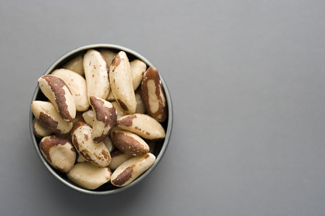 Brazil nuts have selenium.